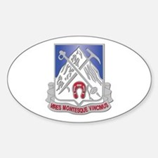DUI - 2nd Bn - 87th Infantry Regiment Decal