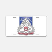 DUI - 2nd Bn - 87th Infantry Regiment Aluminum Lic