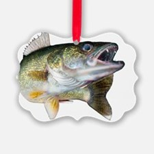 walleye turn Ornament
