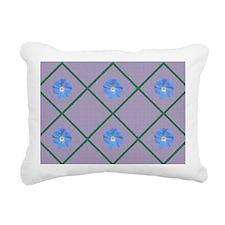 Morning glory Rectangular Canvas Pillow