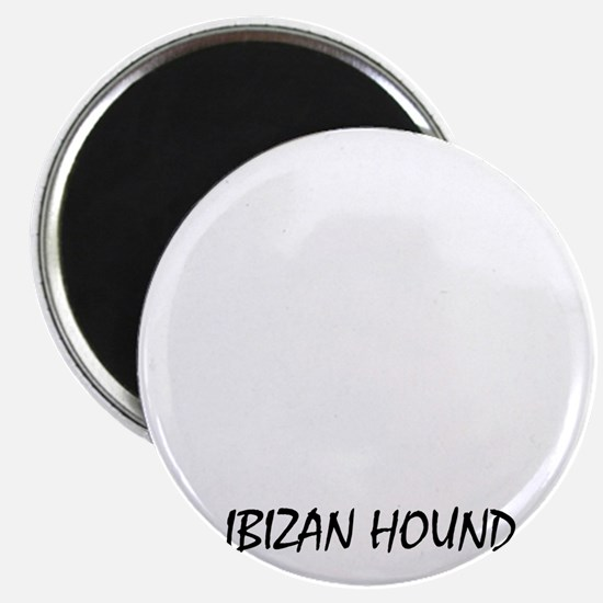 Mess with me you mess with my Ibizan Hound Magnet