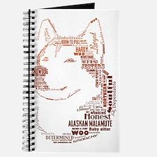 Malamute Words Journal