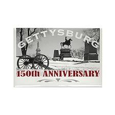 Civil War Gettysburg 150 Annivers Rectangle Magnet