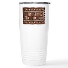 TAPA CLOTH Travel Coffee Mug