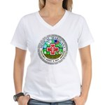 Medical Marijuana Women's V-Neck T-Shirt