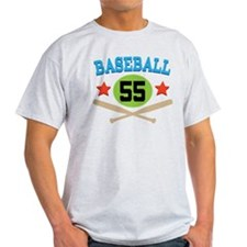 Baseball Player Number 55 T-Shirt