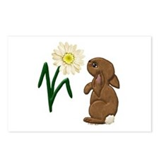 Spring Bunny Postcards (Package of 8)