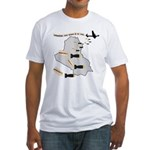 Bombing Democracy Men's Fitted T Shirt