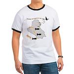 Bombing Democracy Ringer T Shirt