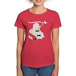 Bombing Democracy Women's T-Shirt (Dark)