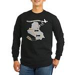Bombing Democracy Long Sleeve T-Shirt (Dark)