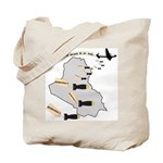 Bombing Democracy Tote Bag