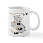 Bombing Democracy Mug