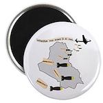 Bombing Democracy Magnets (100 pk)