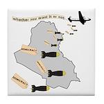 Bombing Democracy Tile Drink Coaster