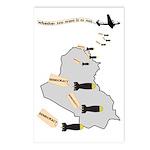 Bombing Democracy Postcards (8 pk)