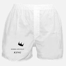 Sierra Leonean King Boxer Shorts