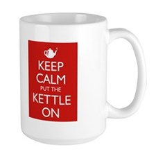 Keep Calm put the Kettle on Teapot Mug