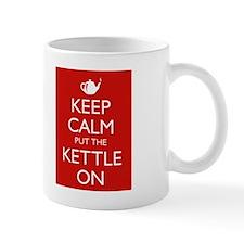 Keep Calm put the Kettle on Teapot Mug