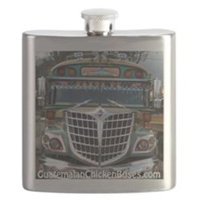 Guatemalan Chicken Bus: Santa Fe Flask