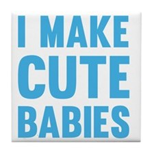 MakeCuteBabies1C Tile Coaster