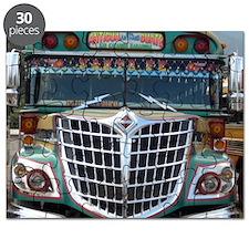 Guatemalan Chicken Bus: Santa Fe Puzzle