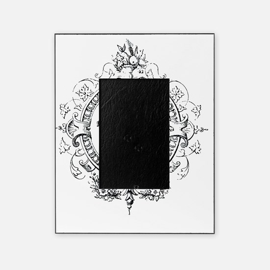 Vintage French crown Picture Frame