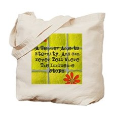 retired teacher tiles blanket 2 Tote Bag