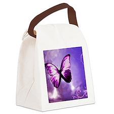 purple majesty Canvas Lunch Bag