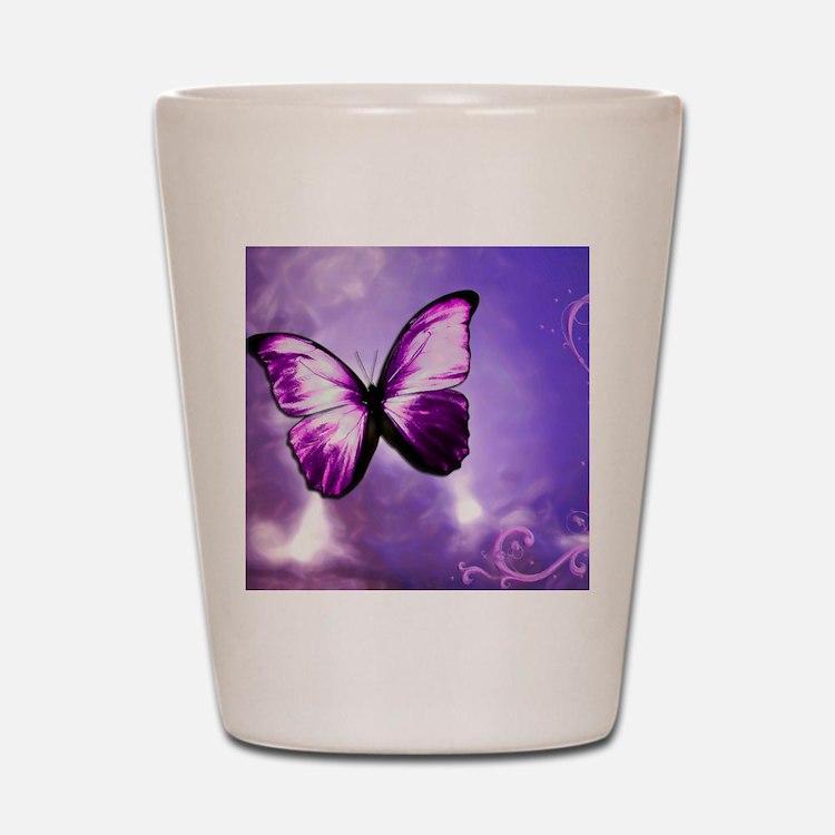 purple majesty Shot Glass