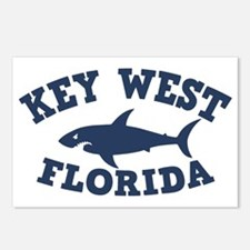 shark-keywest-CAP Postcards (Package of 8)