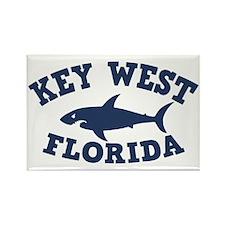 shark-keywest-CAP Rectangle Magnet
