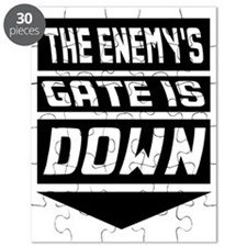 The Enemys Gate Is Down Puzzle