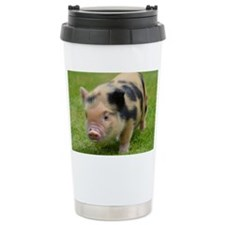Little Spotty micro pig Travel Coffee Mug