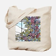 Floral Skylight - Fenway Gate Tote Bag