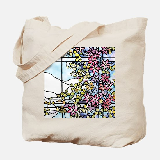 Floral Skylight - Fenway Gate Tote Bag