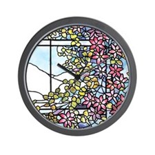 Floral Skylight - Fenway Gate Wall Clock