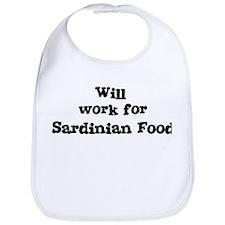 Will work for Sardinian Food Bib