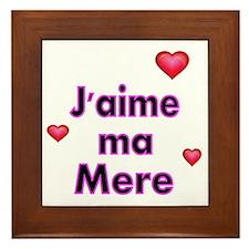Jaime ma Mere-French Framed Tile