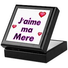 Jaime ma Mere-French Keepsake Box
