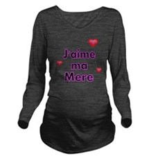 Jaime ma Mere-French Long Sleeve Maternity T-Shirt