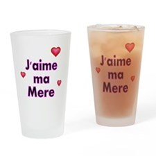 Jaime ma Mere-French Drinking Glass
