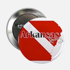 """Arkansas Diver 2.25"""" Button"""