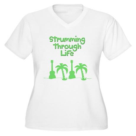 Ukulele uke ukelele Plus Size T-Shirt