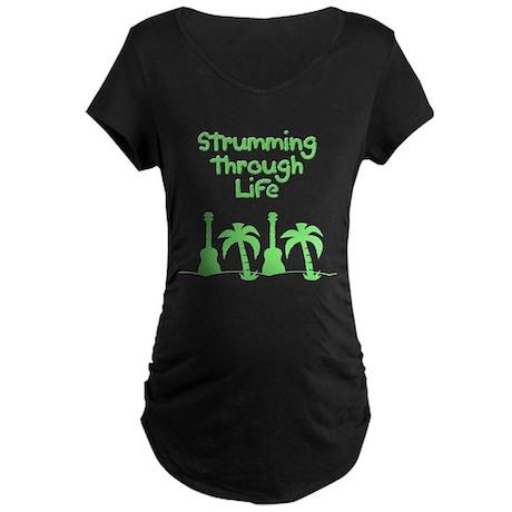 Ukulele uke ukelele Maternity T-Shirt