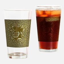 metal art 02 golden Drinking Glass