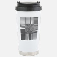 metal art silver Travel Mug