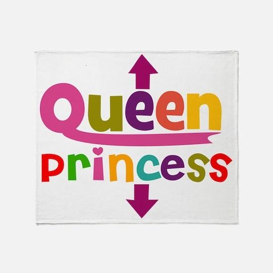 Queen  Princess Throw Blanket