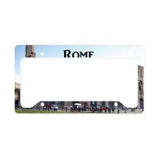 Rome_18.8x12.6_Colosseum License Plate Holder