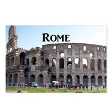 Rome_18.8x12.6_Colosseum Postcards (Package of 8)